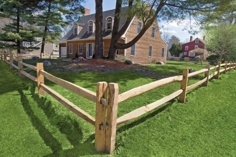 Post And Rail Reliable Fence Boston